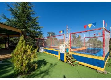 Инфраструктура для детей в пансионате Шексна