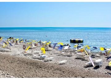 Пляж пансионата Шексна